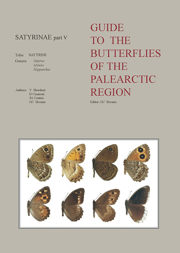 GUIDE TO THE BUTTERFLIES OF THE PALEARCTIC REGION SATYRINAE PART V